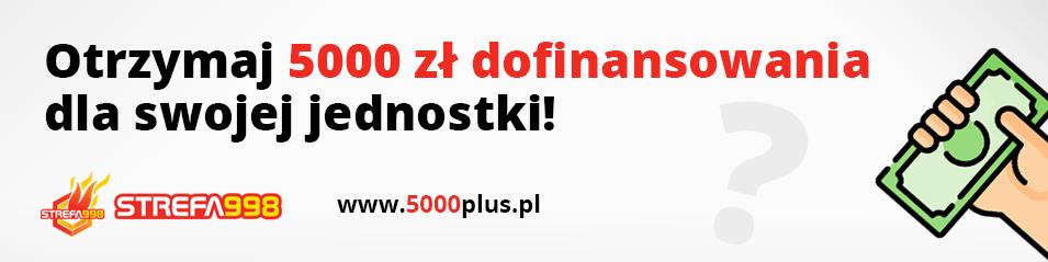 Dotacja 5000 plus dla OSP 2021r – COVID